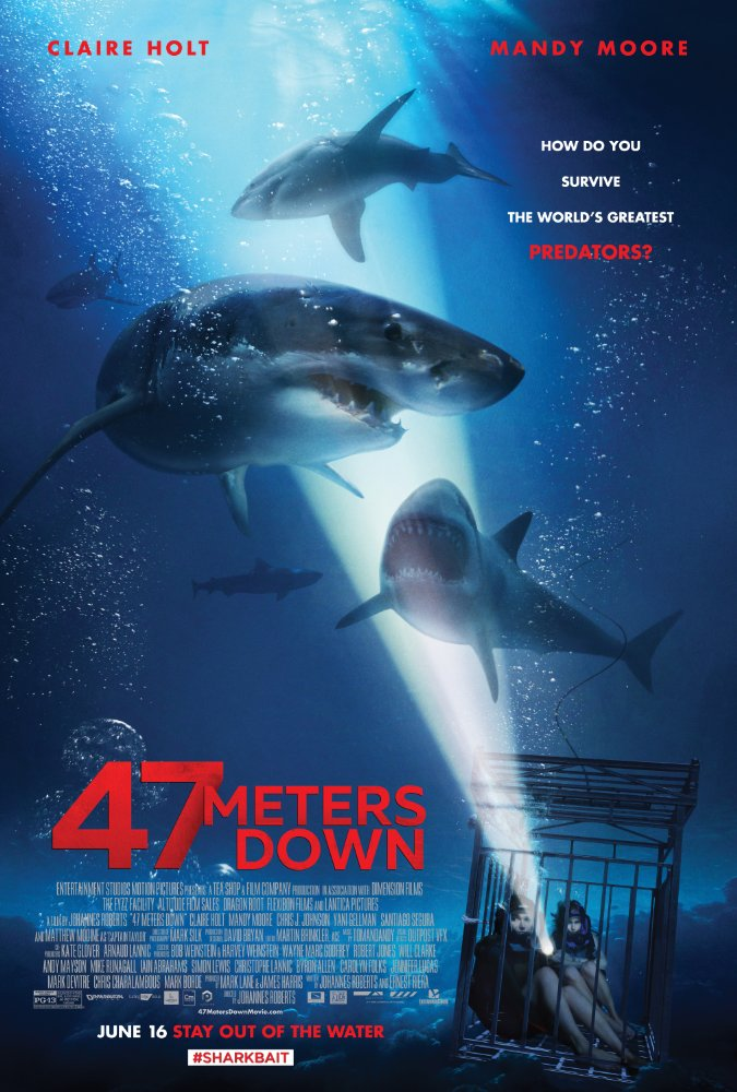 47 Meters Down - Jun 16, 2017