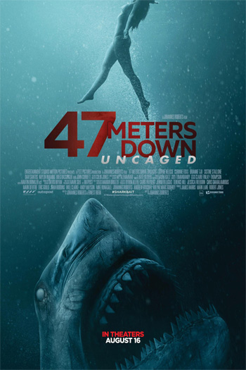 47 Meters Down: Uncaged - Aug 16, 2019