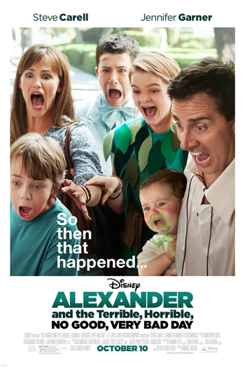 Alexander and the Terrible, Horrible, No Good, Very Bad Day - 2014-10-10 00:00:00