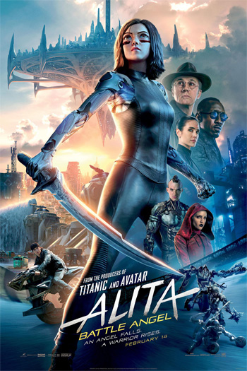 Alita: Battle Angel - Feb 14, 2019