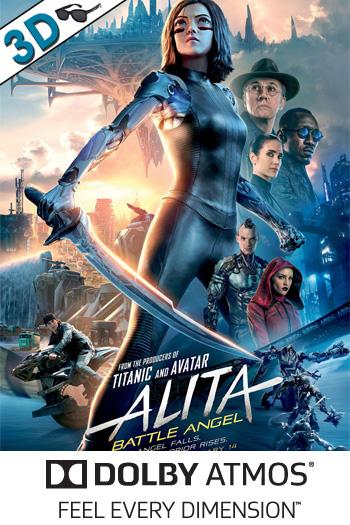 Alita: Battle Angel 3D ATMOS - 2019-02-14 00:00:00