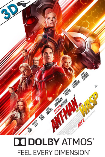 Ant-Man and the Wasp 3D ATMOS