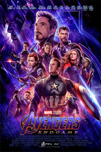 Avengers: Endgame - Apr 26, 2019