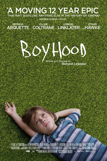 Boyhood - Sep 12, 2014