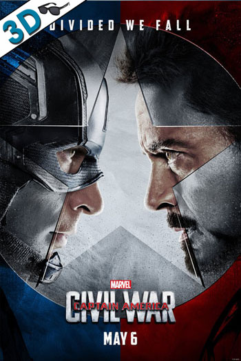 Captain America: Civil War 3D - 2016-05-06 00:00:00