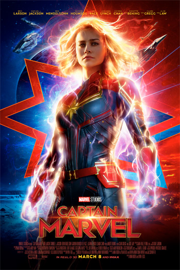 Captain Marvel - Mar 8, 2019
