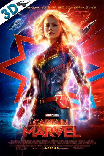 Captain Marvel 3D - 2019-03-08 00:00:00