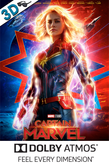 Captain Marvel 3D ATMOS - 2019-03-08 00:00:00