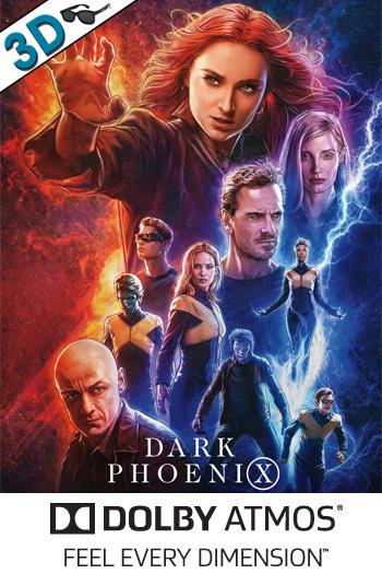 Dark Phoenix 3D ATMOS