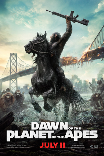 Dawn of the Planet of the Apes - Jul 11, 2014