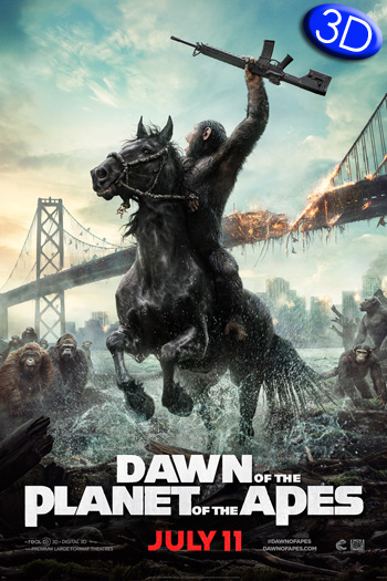 Dawn of the Planet of the Apes 3D - 2014-07-11 00:00:00