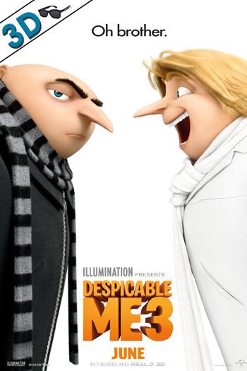 Despicable Me 3 3D - 2017-06-30 00:00:00