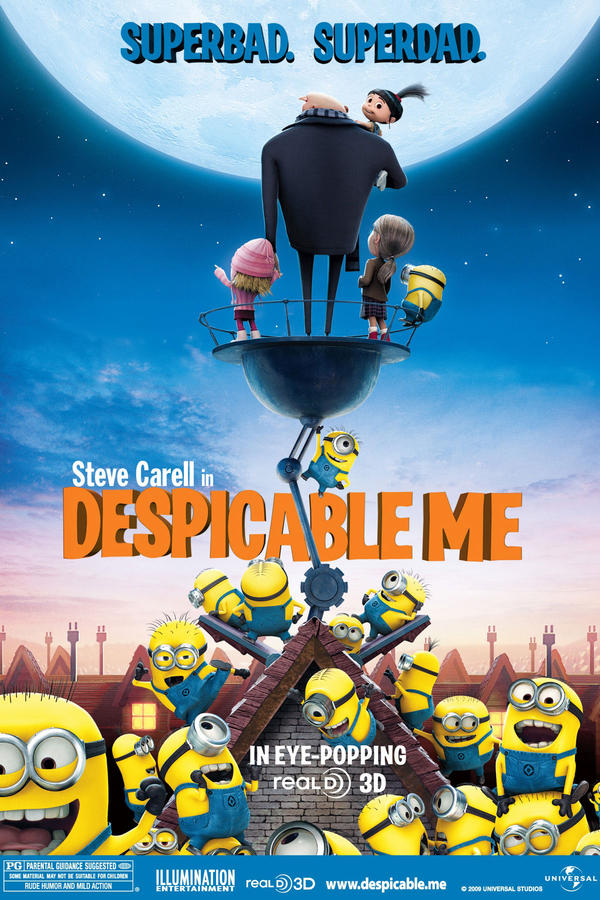 Despicable Me in 3D - Allen Theatres, Inc.
