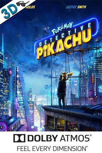 Detective Pikachu 3D ATMOS