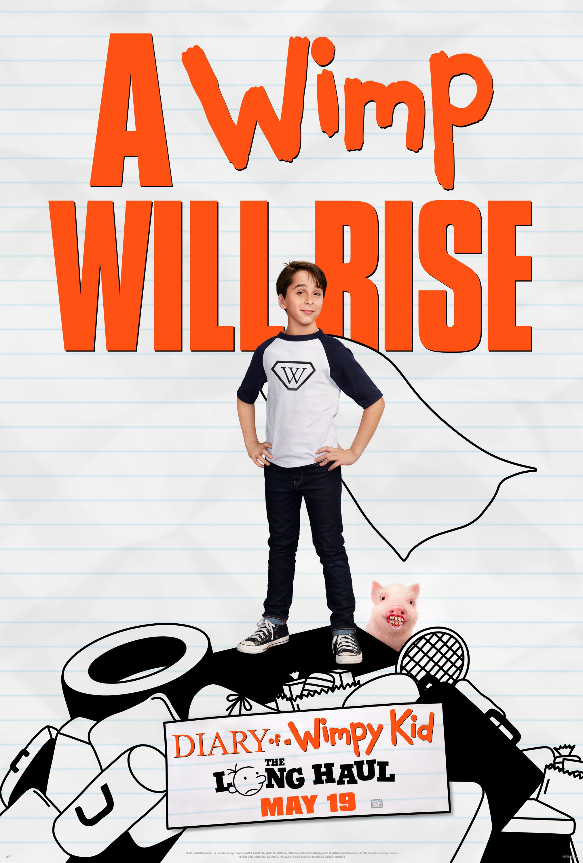 Diary of a Wimpy Kid: The Long Haul - 2017-05-19 00:00:00