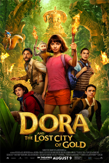 Dora and the Lost City of Gold - Aug 9, 2019