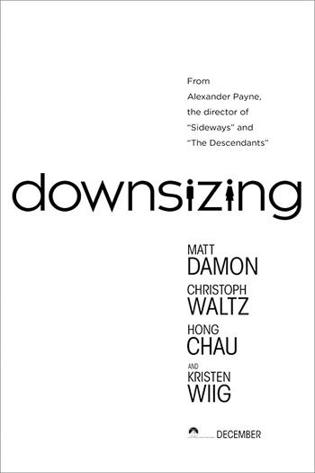 Downsizing - Dec 22, 2017