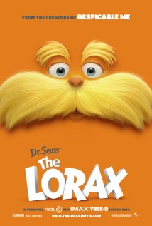Dr Seuss The Lorax 3d