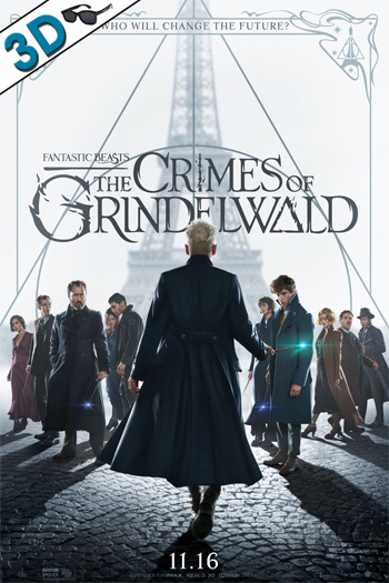 Fantastic Beasts: The Crimes of Grindelwald 3D - 2018-11-16 00:00:00