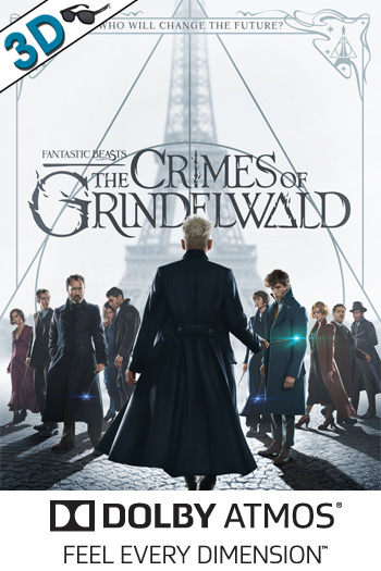 Fantastic Beasts: The Crimes of Grindelwald 3D ATMOS - 2018-11-16 00:00:00