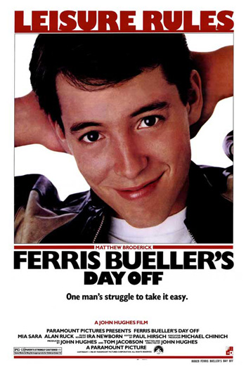 Ferris Bueller's Day Off - May 22, 2020