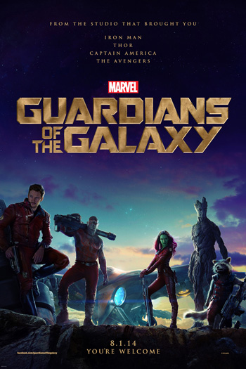 Guardians of the Galaxy - Aug 1, 2014
