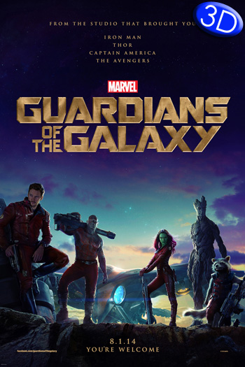 Guardians of the Galaxy 3D - 2014-08-01 00:00:00