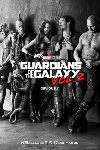 Guardians of the Galaxy Volume 2 - May 5, 2017