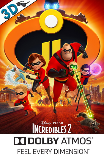 Incredibles 2 3D ATMOS