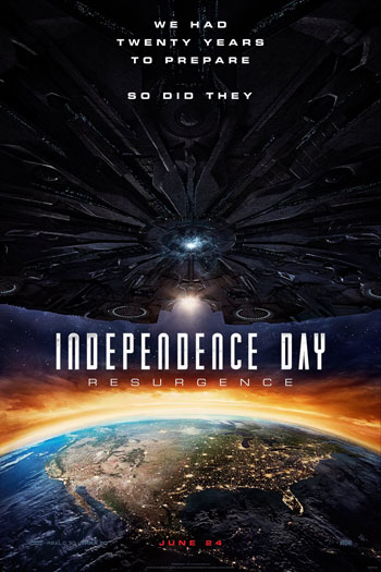 Independence Day Resurgence - Jun 24, 2016