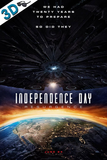 Independence Day Resurgence 3D - 2016-06-24 00:00:00