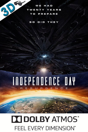 Independence Day Resurgence 3D ATMOS - 2016-06-24 00:00:00