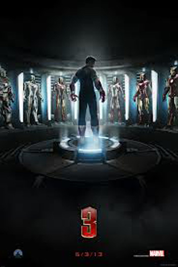 Iron Man 3 2D - May 3, 2013