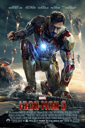 Iron Man 3 3D - May 3, 2013