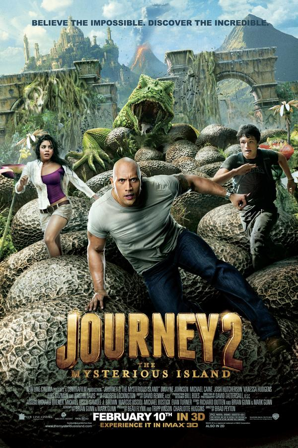 Journey 2: The Mysterious Island 2D
