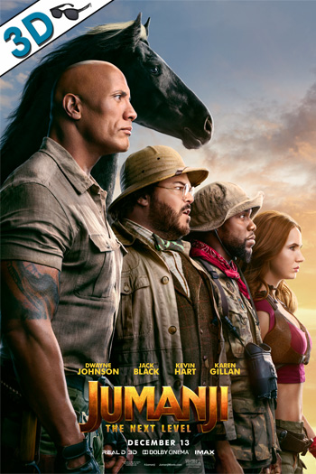 Jumanji: The Next Level 3D - 2019-12-13 00:00:00