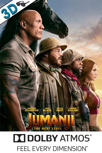 Jumanji: The Next Level 3D ATMOS - Dec 13, 2019
