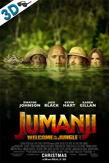 Jumanji: Welcome to the Jungle 3D - 2017-12-20 00:00:00