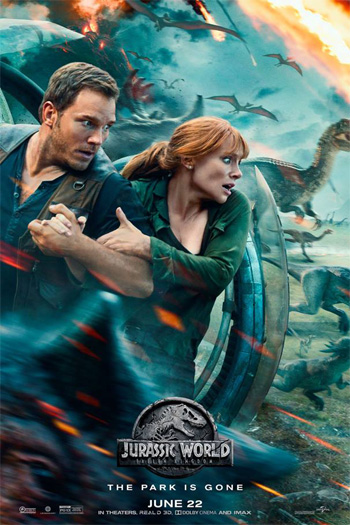 Jurassic World: Fallen Kingdom - Jun 22, 2018