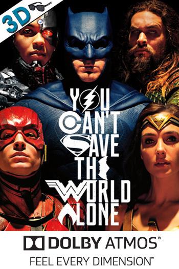 Justice League 3D ATMOS