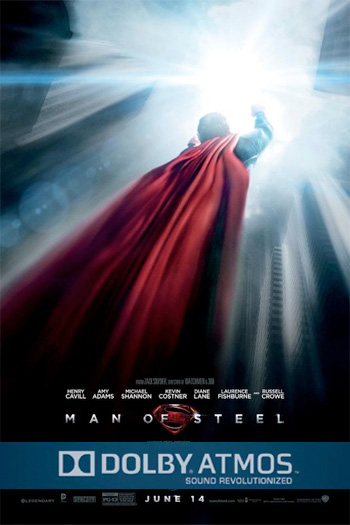 Man of Steel 3D ATMOS - Jun 14, 2013