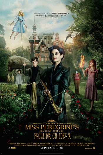 Miss Peregrine's Home for Peculiar Children - 2016-09-30 00:00:00