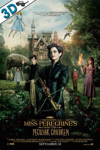 Miss Peregrine's Home for Peculiar Children 3D - 2016-09-30 00:00:00