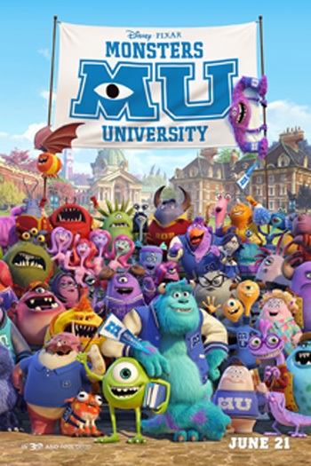 Monsters University 3D - 2013-06-21 00:00:00