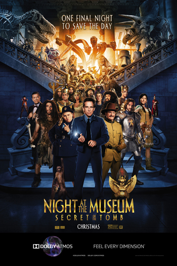 Night at the Museum: Secret of the Tomb ATMOS - 2014-12-19 00:00:00
