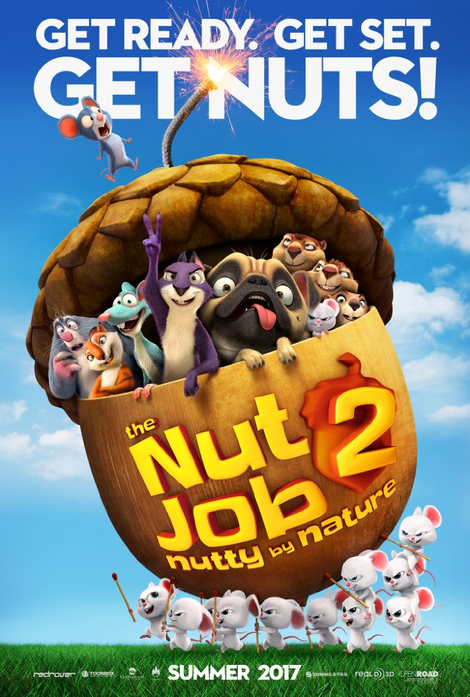 Nut Job 2: Nutty by Nature - Aug 11, 2017