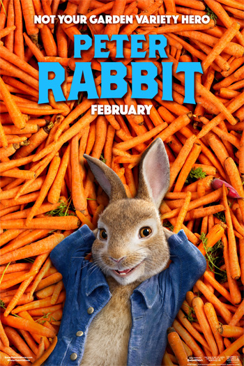 Peter Rabbit - Feb 9, 2018