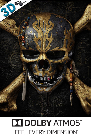 Pirates of the Caribbean: Dead Men Tell No Tales 3D ATMOS - 2017-05-26 00:00:00