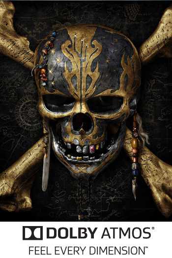 Pirates of the Caribbean: Dead Men Tell No Tales ATMOS - 2017-05-26 00:00:00