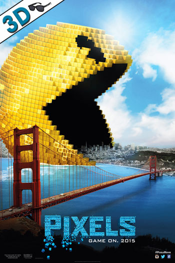Pixels 3D - 2015-07-24 00:00:00
